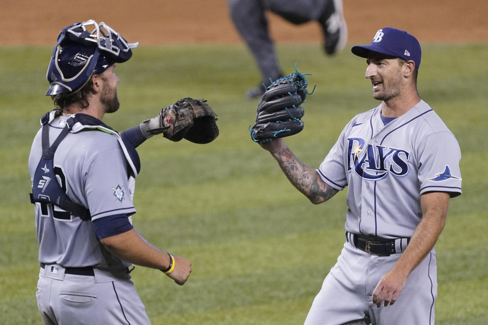 The Rays have to be happy the Yankees didn't make any major moves.(Photo by Eric Espada/Getty Images)