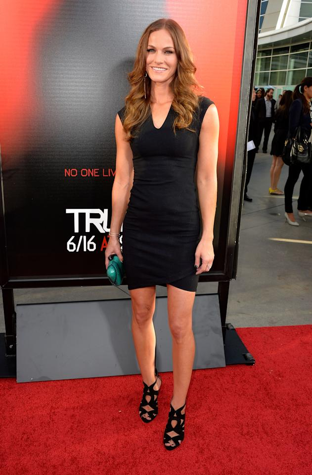 HOLLYWOOD, CA - JUNE 11: Actress Kelly Overton attends the premiere of HBO's 'True Blood' Season 6 at ArcLight Cinemas Cinerama Dome on June 11, 2013 in Hollywood, California. (Photo by Frazer Harrison/Getty Images)