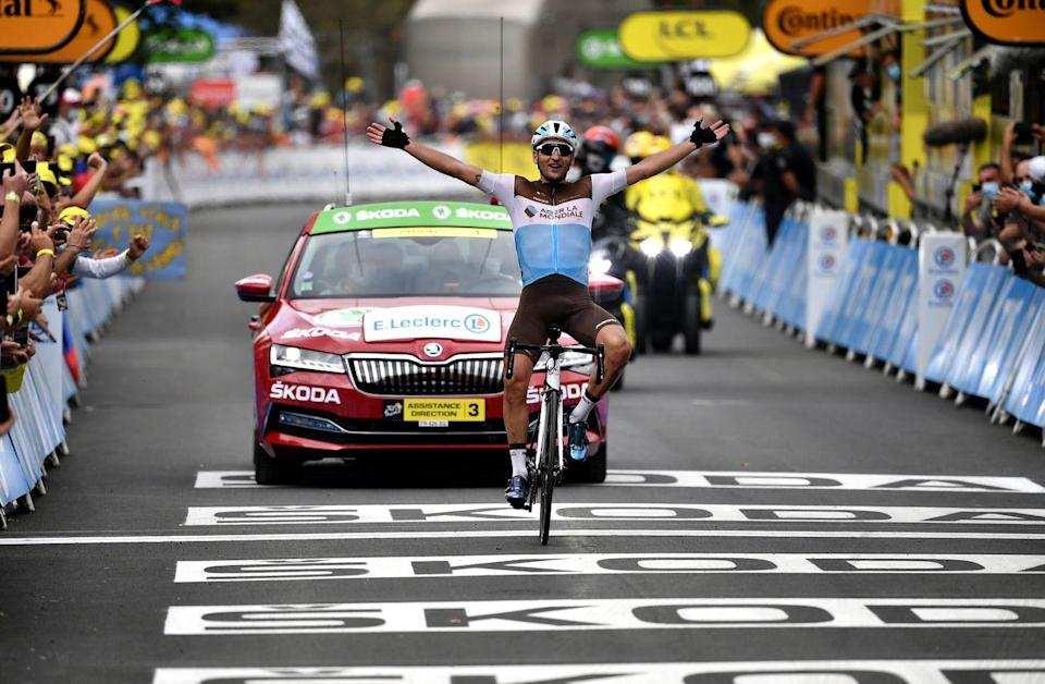 <p><strong>Who's Winning the Tour?</strong></p><p>Mitchelton-Scott's Adam Yates managed to keep the yellow jersey as the leader of the Tour de France during Stage 8, fighting his way back to the group of favorites after getting dropped twice on the final climb. The stage was won by AG2R's Nans Peters, who finished alone almost seven minutes ahead of Yates and the rest of the Tour's GC contenders. However, Yates still leads the Tour by 3 seconds over Jumbo-Visma's Primož Roglič and 9 seconds over Cofidis's Guillaume Martin. </p><p><strong>Who's <em>Really</em> Winning the Tour?</strong></p><p>A full week into the Tour, a handful of favorites have started to separate themselves from the rest, led by Roglič, who's now the clear leader of his team, and Arkéa–Samsic's Nairo Quintana, whose attack over the top of the Col de Peyresourde reminded us of the rider who first set the Tour on fire when he made his debut back in 2013. (Quintana is currently 13 seconds back.) UAE's Tadej Pogačar had a terrific day as well, attacking to take back half of the time he lost in Friday's crosswinds. He's now ninth overall, only 48 seconds away from the yellow jersey. </p><p>Stage 8 effectively ended the Tour hopes of two Frenchmen: Groupama-FDJ's Thibaut Pinot and Quick-Step's Julian Alaphilippe. But luckily for the home fans, Martin and AG2R's Romain Bardet both looked strong, with Martin one of only a few riders able to attack on the Peyresourde and Bardet escaping near the finish to gain a few seconds. The Frenchmen now sit third and fourth on the Tour's General Classification. </p>