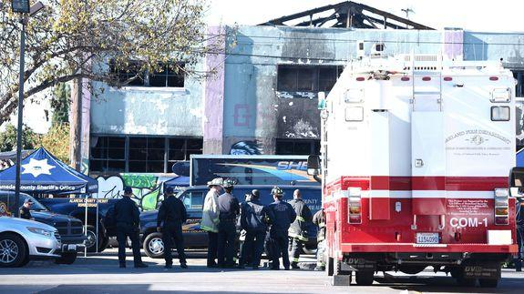 Inside the Oakland artist warehouse that tragically burned ...