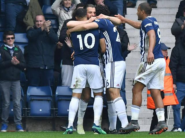 West Brom squander yet another chance to end winless run as Swansea salvage draw to edge closer towards safety