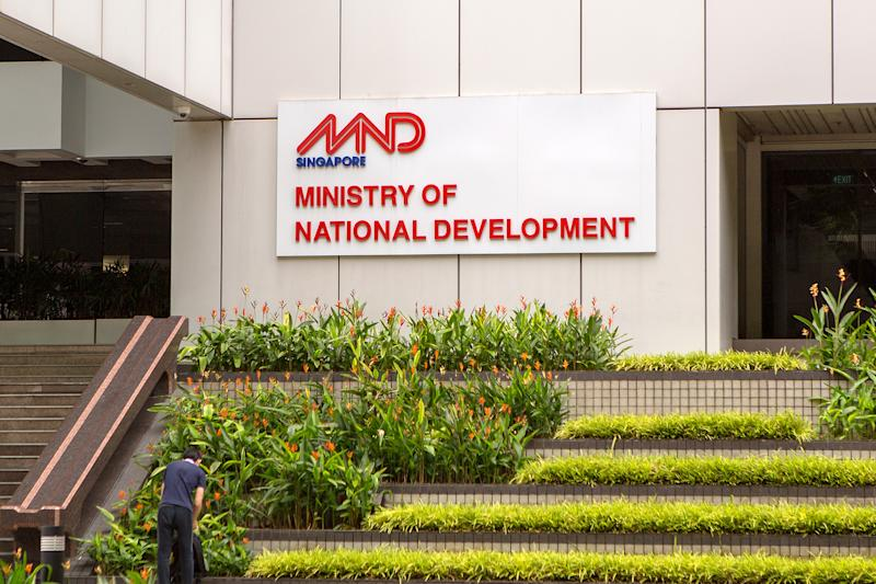 The Ministry of National Development (MND) headquarters seen on 7 April 2020. (PHOTO: Dhany Osman / Yahoo News Singapore)