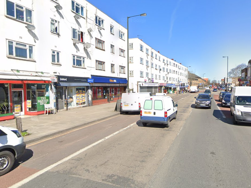 Police were called to Monarch Parade in Mitcham on Tuesday afternoon: Google