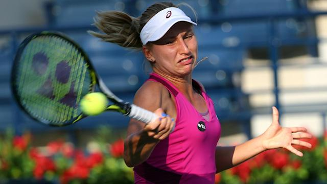 A pair of seeds fell at the San Antonio Open, but Daria Gavrilova was not among them as she progressed.