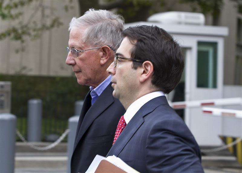 Konigsberg, former accountant and former senior tax partner at Konigsberg Wolf & Co in New York, leaves Manhattan federal courthouse