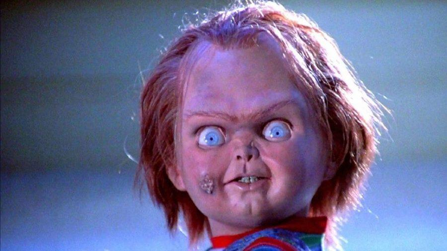 Chucky Looks scarily at the camera in Child's Play