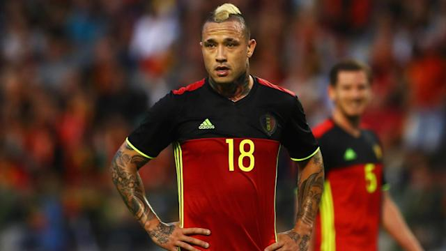 Roberto Martinez has named his 28-man provisional Belgium squad for the World Cup, with Roma's Radja Nainggolan the most notable omission.