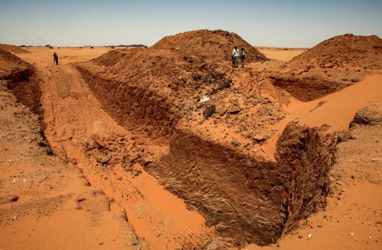 Gold-hunting diggers destroy Sudan's priceless past
