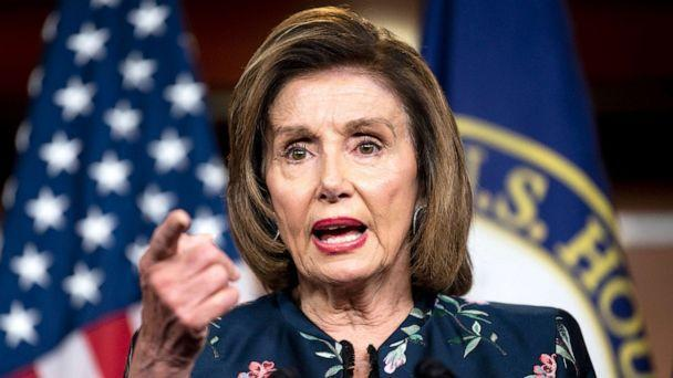 PHOTO: Speaker of the House Nancy Pelosi, holds her weekly news conference in the Capitol on Thursday, July 22, 2021.  (Bill Clark/CQ Roll Call)