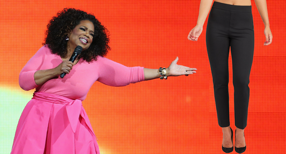 More than 100 best-selling Spanx items are on sale — including Oprah's favourite pair of pants (Photos via Getty & Spanx)