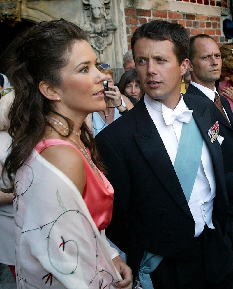 Princess Mary was just 28-years-old at the time and hadn't even met Prince Frederik. Photo: Getty Images