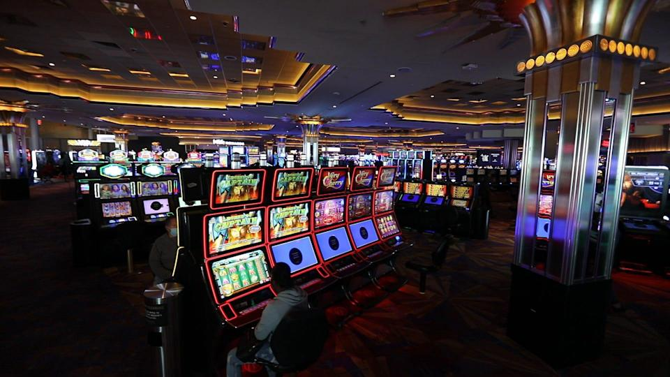 Empire City Casino in Yonkers, N.Y., reopened on Sept. 21, 2020 after being closed due to the coronavirus shutdown.