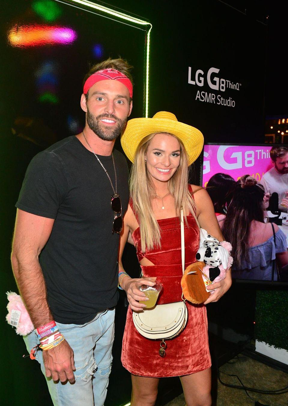 """<p>Robby has had a string of relationships with reality stars since breaking things off with Amanda. The social media influencer was briefly connected to <em>Vanderpump Rules </em>star Scheana Shay and most recently linked to <a href=""""https://people.com/tv/robby-hayes-juliette-porter-kissing-photo-dating/"""" rel=""""nofollow noopener"""" target=""""_blank"""" data-ylk=""""slk:Siesta Keys star"""" class=""""link rapid-noclick-resp""""><em>Siesta Keys </em>star</a> Juliette Porter (pictured here). For now, though, he seems to be single as a Pringle.</p>"""
