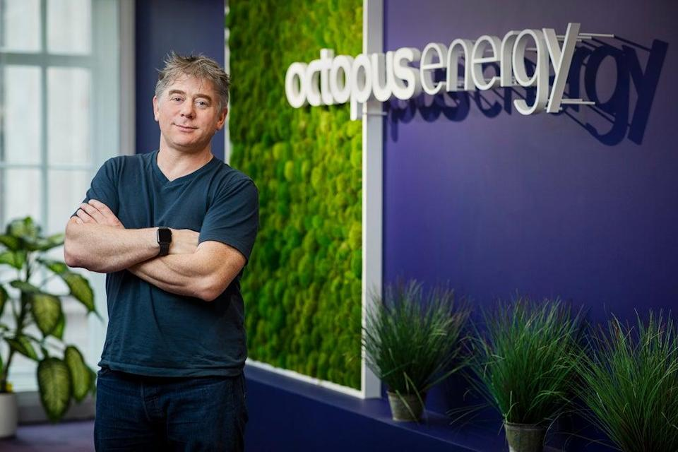 Octopus Energy founder and chief executive Greg Jackson (Octopus Energy)