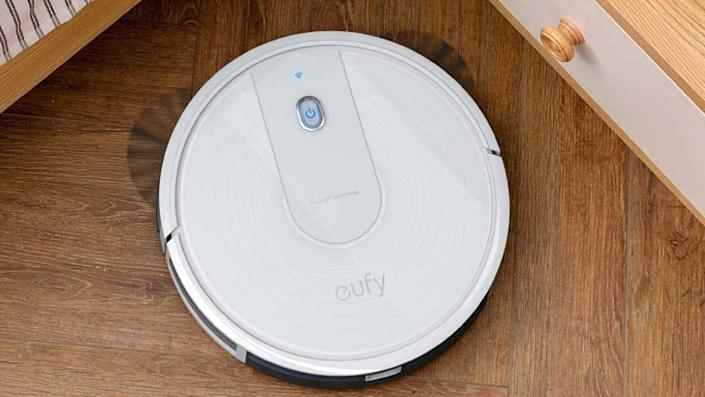 The Eufy 15C robot vacuum impressed customers with its manageability and smart object detection.