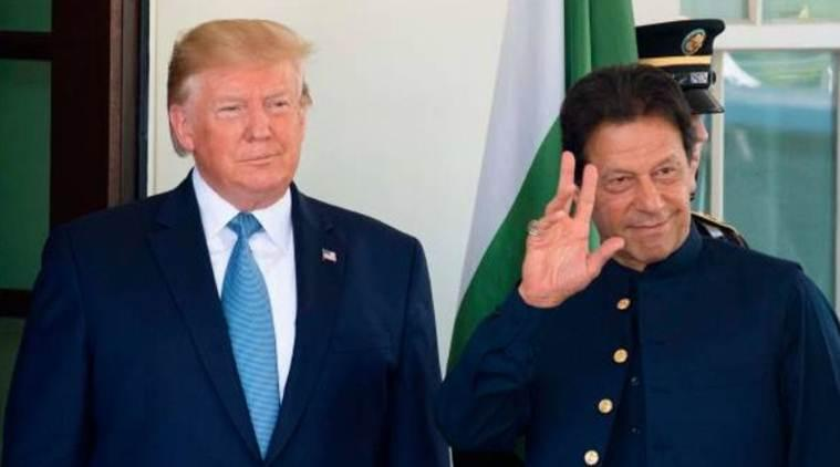 prime minister narendra modi, pm modi, pm modi donald trump, donald trump imran khan, trump imran khan meeting, ministry of external affairs, foreign minister, kashmir issue, india pakistan, india news, Indian Express