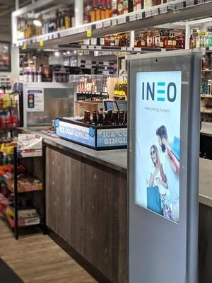 INEO Tech Corp., through its wholly owned subsidiary, INEO Solutions Inc., provides retailers with the INEO Welcoming Network, a patented in-store and online location-based advertising network which enhances the customer experience, monetizes the entrances of retail stores and protects against retail theft. (CNW Group/INEO Tech Corp.)