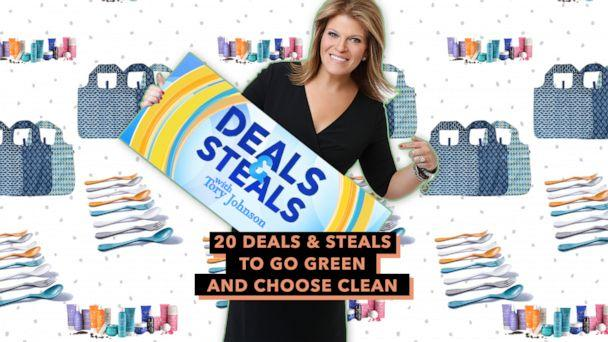 PHOTO: Deals & Steals to go green and choose clean (ABC News)