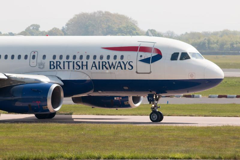 British Airways will fly an Airbus A319 to Newquay five times a week: Getty Images