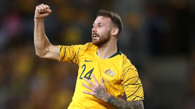 Australia's next generation pay tribute to retiring Cahill