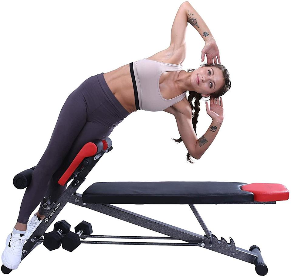<p><span>Finer Form Multi-Functional Weight Bench</span> ($126, originally $160)</p>