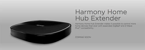 Ad for Harmony Home Hub Extender
