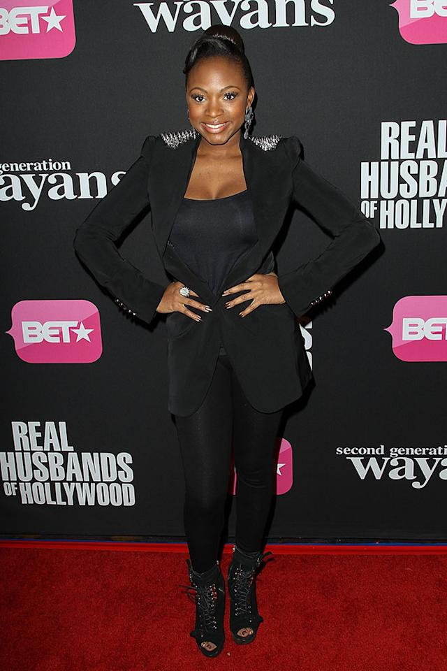 "Naturi Naughton arrives at the screenings of BET Networks' ""Real Husbands of Hollywood"" and ""Second Generation Wayans"" held at the Regal Cinemas L.A. Live on January 8, 2013 in Los Angeles, California."