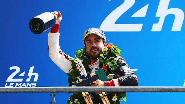 After tasting success on his 24 Hours of Le Mans debut, Fernando Alonso wishes the next race was not so far away.