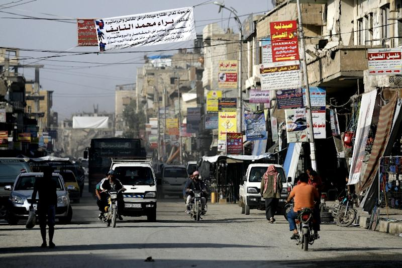 The SDF ousted IS fighters from Raqa city in 2017, more than three years after the jihadists overran the city and made it their de-factoSyrian capital