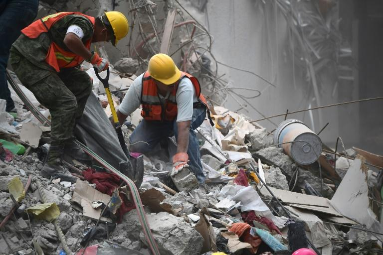 Mexico quake toll rises to 305