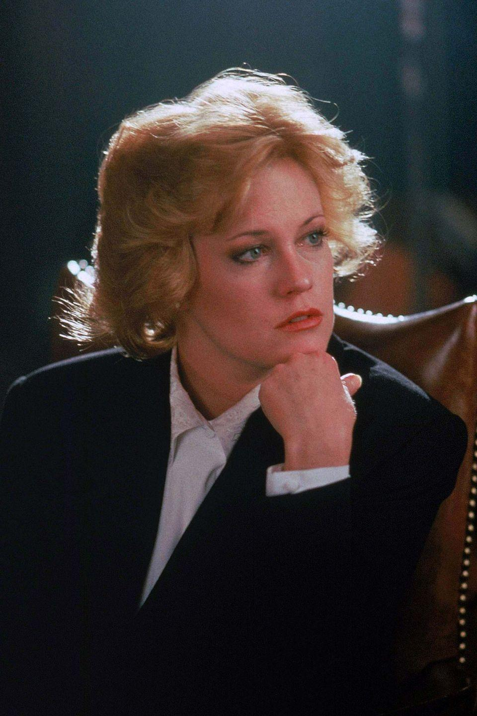 <p>If you plan to power dress your way into a post-lockdown office (and, after a year of sweatpants, who would blame you?), there could be no greater inspiration for this than perhaps the most famous shoulder pads in movie history, those which belong to Melanie Griffith's character Tess in Working Girl. We do suggest you dial it back slightly though.</p>