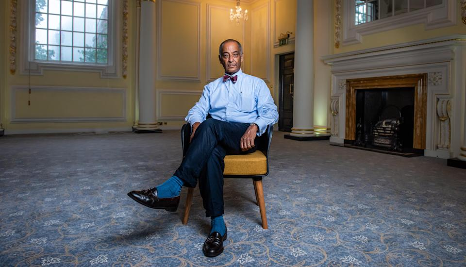 Sir Ken said the George Floyd murder sparked his conversations about racism with the Royal Family. (Channel 4)