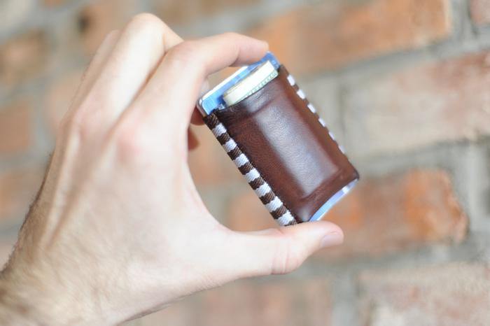 """<a href=""""http://www.kickstarter.com/projects/jacksutter/tgt-tight-a-new-kind-of-wallet?ref=most-funded"""">TGTs</a>  are tiny wallets constructed of soft Italian leather and high-quality  elastic. They fit into the tightest pocket and don't make pants feel  bulky like others often do. The wallets come in a variety of colors and  styles and can hold as many as 20 credit cards. More than 7,500 backed  the project with a combined $317,424."""