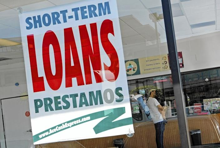 """Twelve percent of Black people turn to high-interest payday loans to make ends meet annually, one study found, compared with 6% of Latino people and 4% of white people. <span class=""""copyright"""">(Anne Cusack / Los Angeles Times)</span>"""