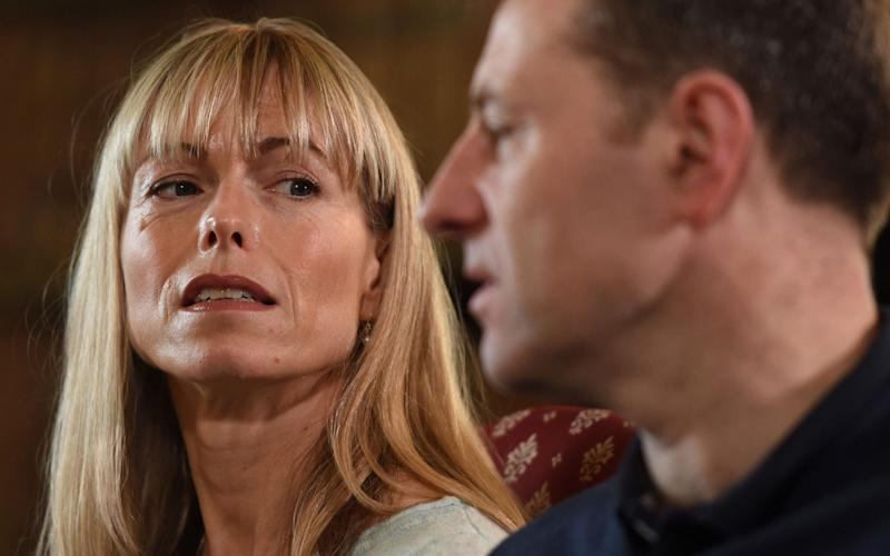 Kate and Gerry McCann - Credit: Joe Giddens/PA Wire