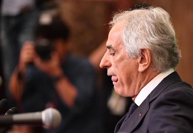 Former Japanese national football team head coach Vahid Halilhodzic was unceremoniously given the boot by the Japan Football Association (JFA) last month, prompting an angry backlash from his legal team (AFP Photo/Toshifumi KITAMURA)