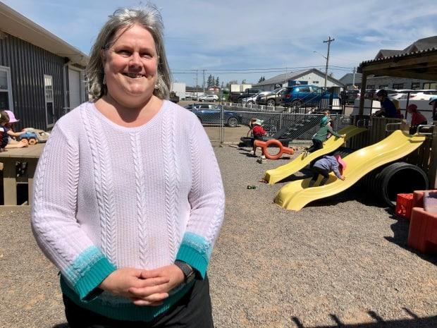 Elizabeth Jeffery, owner and director of Little Wonders Early Learning Centre, says one of the challenges of finding child-care backfill is low wages and a lack of respect for the profession.