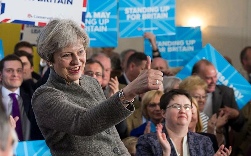Theresa May on the Scottish trip - Newsline Media