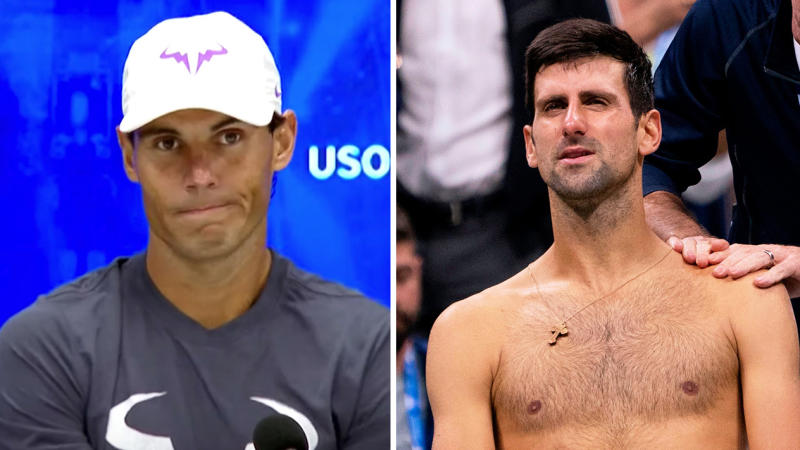 Rafael Nadal spoke in his press conference about how Novak Djokovic did not deserve to be booed at Arthur Ashe Stadium after retiring hurt.