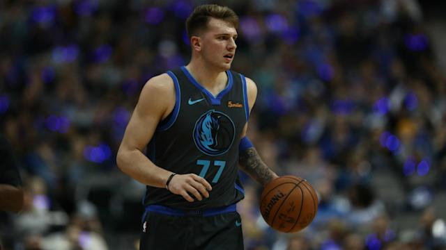 Deandre Ayton discussed the rise of NBA Rookie of the Year favourite Luka Doncic.