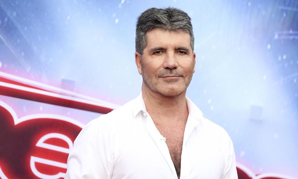 There is no implication that Simon Cowell knew about the incident. Copyright: [Rex]