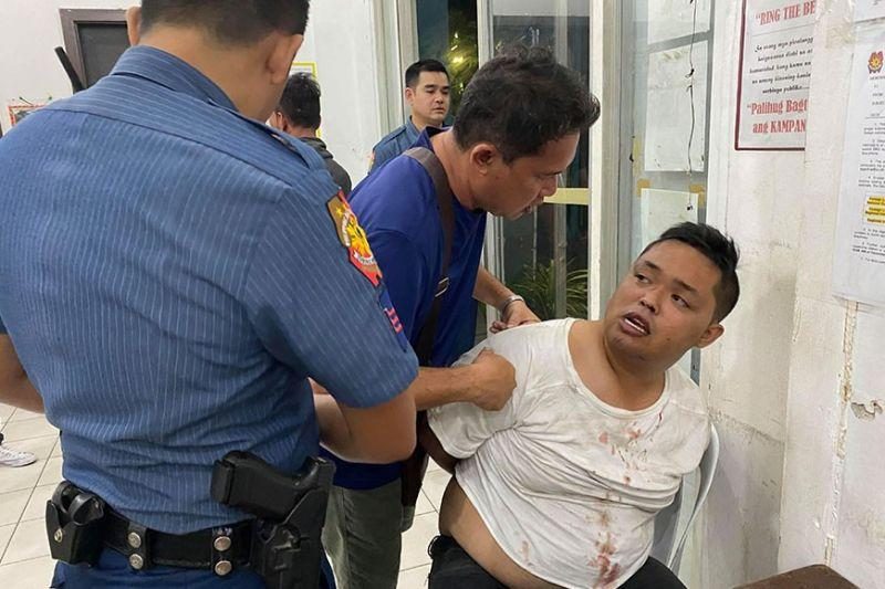 Tagbilaran village official nabbed for making trouble, punching cop