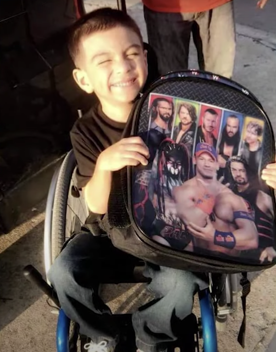 The seven-year-old has been hailed a hero for his courageous act. Source: KHOU
