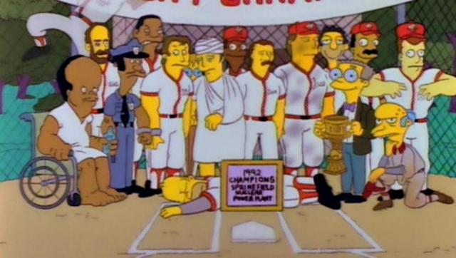 "The ""Homer at the Bat"" episode of <em>The Simpsons.</em> (Photo: Fox)"