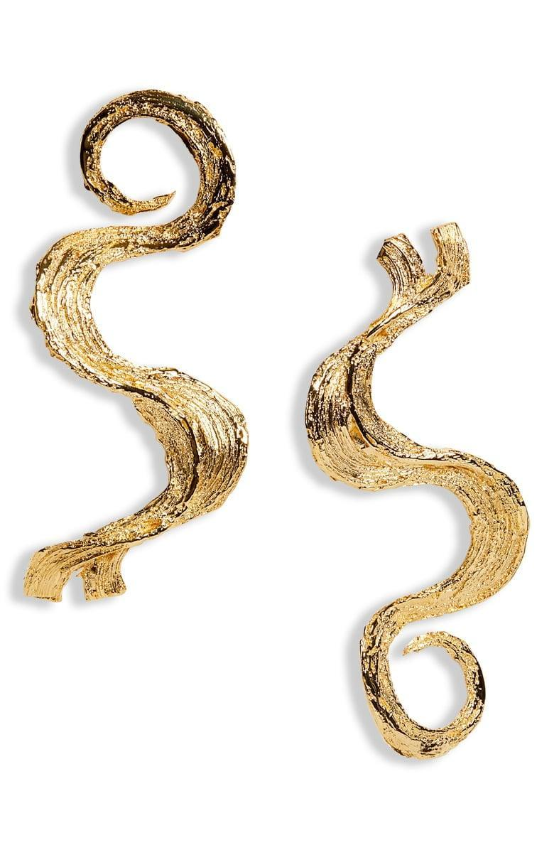 <p>These <span>L'Enchanteur Baby Hare Wave Earrings</span> ($480) are awesome.</p>