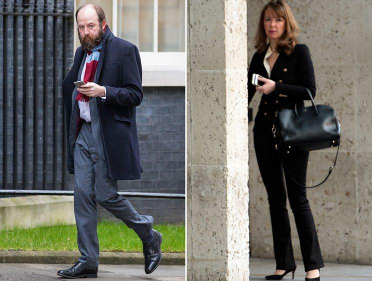 Nick Timothy and Fiona Hill have resigned (Pictures: Rex)
