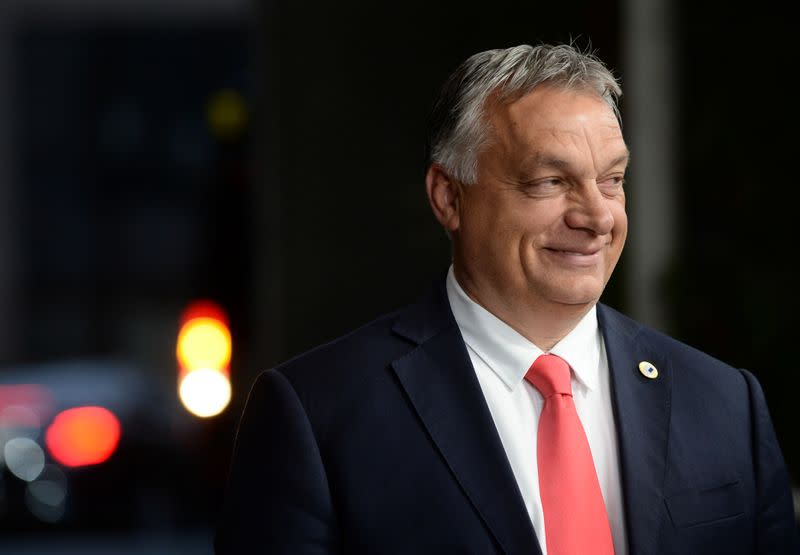Hungary's Orban calls for central Europe to unite around Christian roots