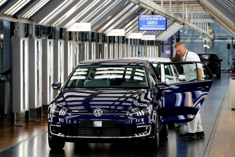 VW's German plants need to shape up, says production chief