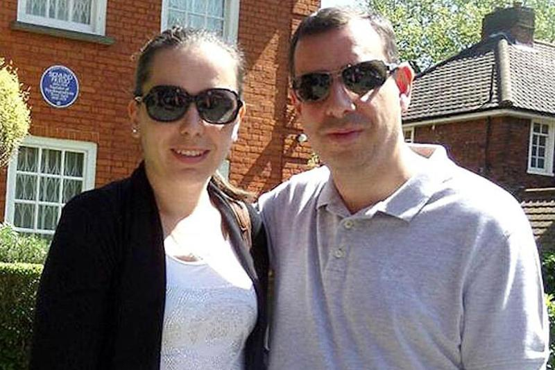 Rift: Nikola, pictured with his wife Bojana has now been given two months to vacate the flat (Richard Gittins/Champion News:)