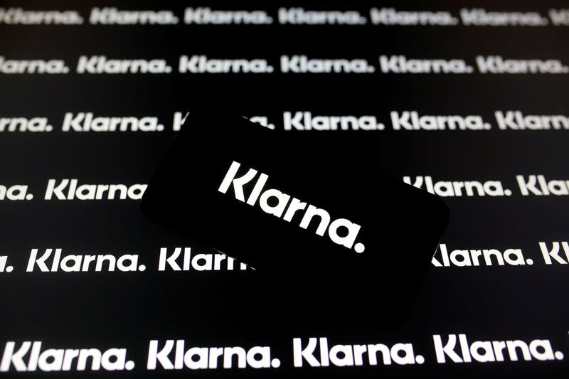 FILE PHOTO: FILE PHOTO: A smartphone displays a Klarna logo in this illustration